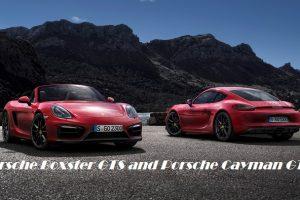 Porsche Boxster GTS and Porsche Cayman GT