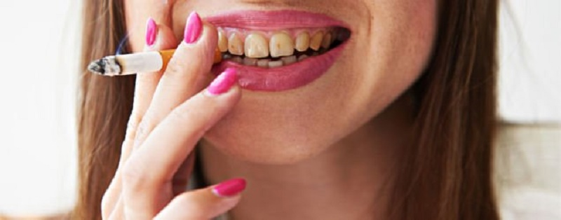 tobacco effects on teeth