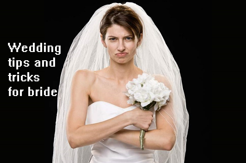 wedding tips and tricks